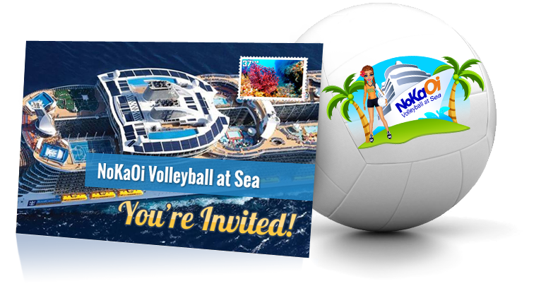 NoKaOi Volleyball at Sea